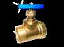 Клапан запорный, вода с внутренней-наружной резьбами
